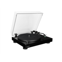 I270815 Fluance RT81 Elite High Fidelity Vinyl Turntable Record Player with Audio Technica AT95E Cartridge, Belt Drive, Built-in Preamp, Adjustable Counterweight, Solid Wood Plinth - Piano Black - New