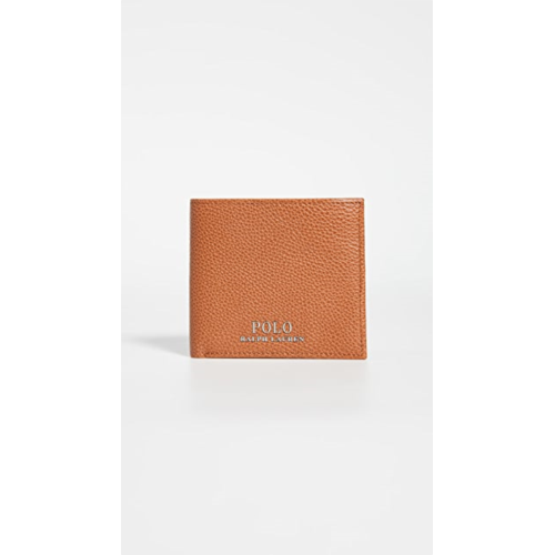 M475033 Polo Ralph Lauren Tailored Pebble Leather Bifold Wallet