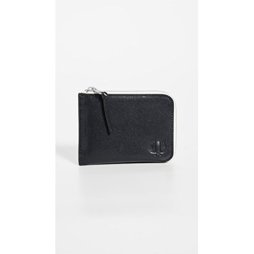 W680783 Fred Perry Contrast Interior Zip Around Wallet