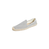 W822773 Soludos Washed Canvas Smoking Slippers