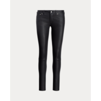 X130111 Stretch Leather Skinny Pant