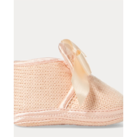 B354942 Addison Knit Slipper With Bow