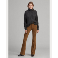 X672964 Lamb-Suede Flare Pant