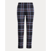 E800688 Plaid Jacquard Pant