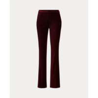 Z960065 Stretch Velvet Straight Pant