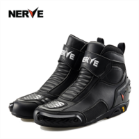 Z187900 Germany NERVE motorcycle riding boots drop resistance spill-resistant racing shoes motorcycle boots male short winter road shoes