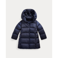 P825174 Quilted Hooded Down Coat