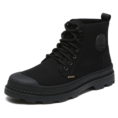 Y607378 Martin boots male high-top shoes, men's shoes British style winter boots tooling boots boots to help tide plus velvet padded shoes