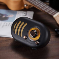 Z997764 Samini Soulful retro portable wireless Bluetooth speaker phone Radio New home PC card large volume of wood gift cute mini subwoofer small stereo Bluetooth