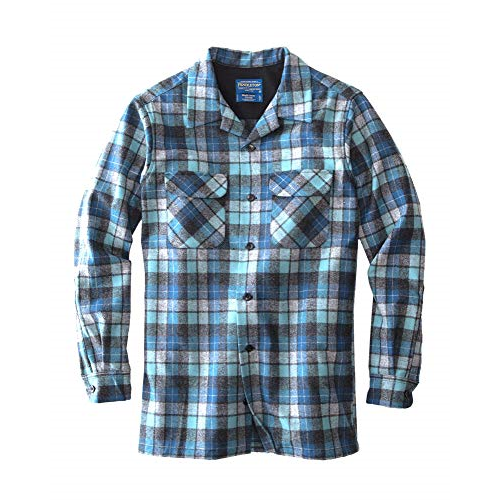 D156400 Pendleton Men's Long Sleeve Fitted Board Shirt