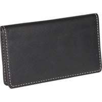 P593967 Royce Leather Business Card Case (Wild Berry)