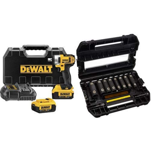 L298427 DEWALT DCF880M2 20-volt MAX Lithium Ion 1/2-Inch Impact Wrench Kit with Detent Pin