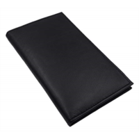 A290411 AG Wallets Genuine Leather Mens Long ID 19 Credit Card Security Wallet