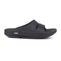 l202856 oofos - unihot ooahh - post run sports recovery slide sandal