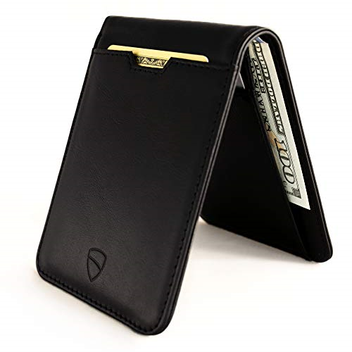 X543822 Vaultskin MANHATTAN Slim Bifold Wallet with RFID Protection for Cards and Cash