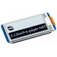 A207228 2.13 inch E-Ink display e-Paper HAT resolution 250x122 SPI interface for Raspberry Pi 3 2 Zero W @XYGStudy
