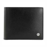 G811902 Montblanc 4810 Westside Men's Small Leather Wallet & Money Clip 114687