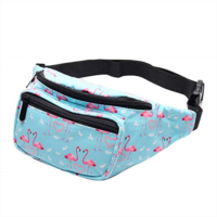 F541386 HELLATHUND Flamigos & Unicorns Fanny Packs/Waist Bags In Multiple Colors and Patterns/For Women, Men, Girls and Boys (unicorn pink)
