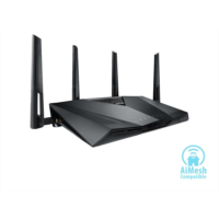 Z678360 ASUS AC3100 Wi-Fi Dual-band Gigabit Wireless Router with 4x4 MU-MIMO, 4 x LAN Ports, AiProtection Network Security and WTFast Game Accelerator, AiMesh Whole Home Wi-Fi System Compatible (RT-AC